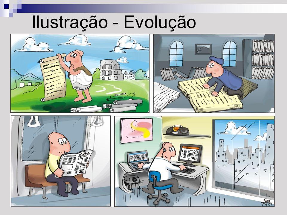Ilustração - Evolução