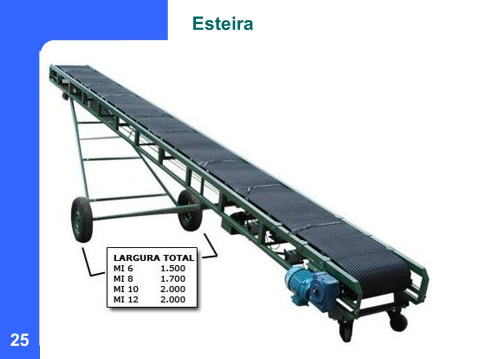 25 Esteira