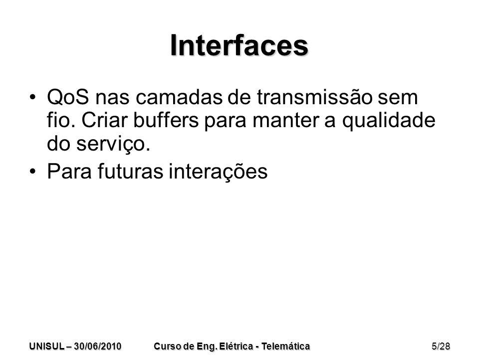 UNISUL – 30/06/2010 Curso de Eng.