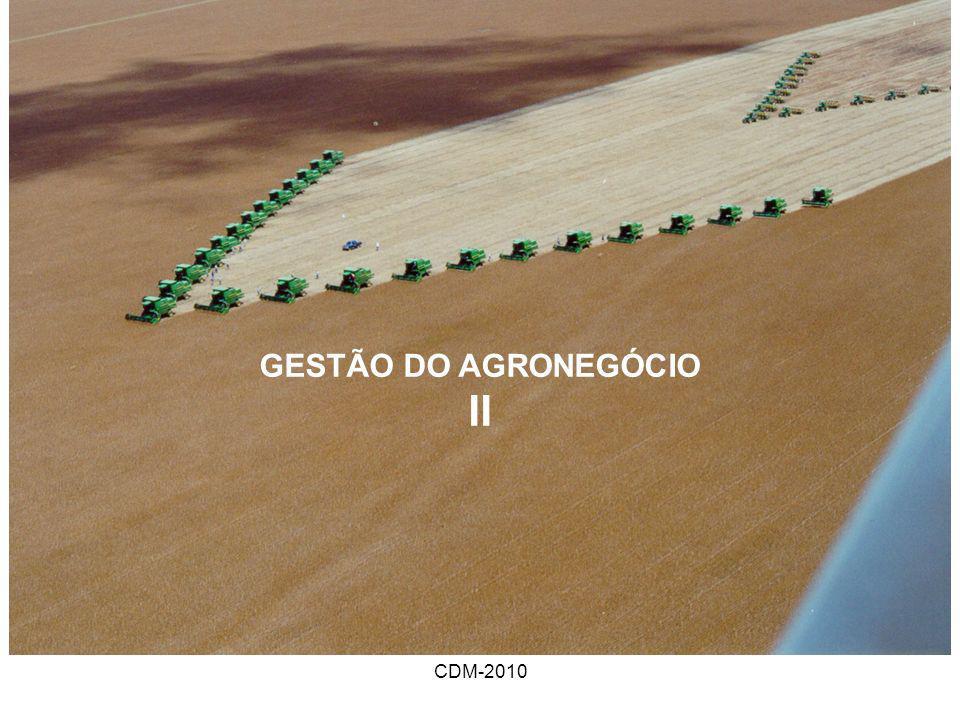 CDM-2010 GESTÃO DO AGRONEGÓCIO II