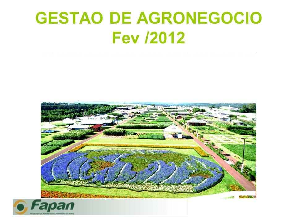 GESTAO DE AGRONEGOCIO Fev /2012