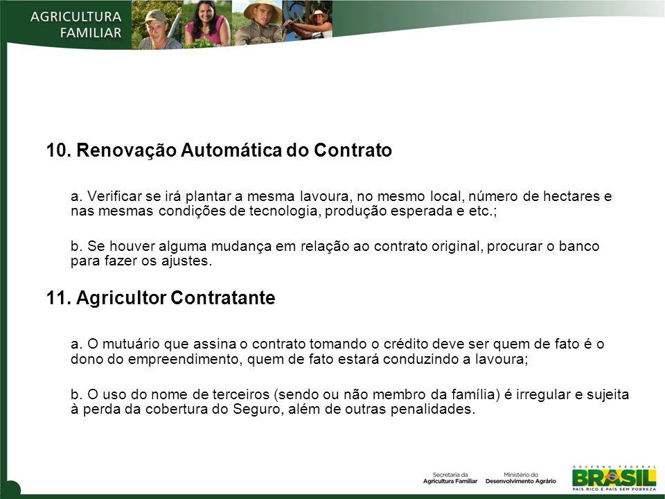 10. Renovação Automática do Contrato a.