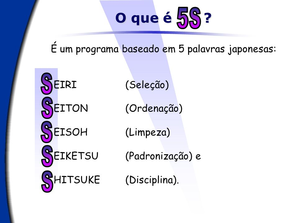 Senso de SHITSUKE (Disciplina) Outras traduções AUTO-DISCIPLINA EDUCAÇÃO HARMONIA Senso: A arte de fazer as coisas certas, naturalmente .