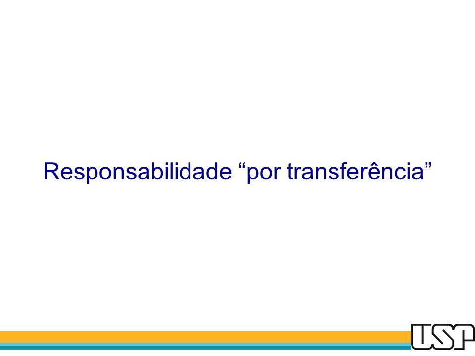 Responsabilidade por transferência