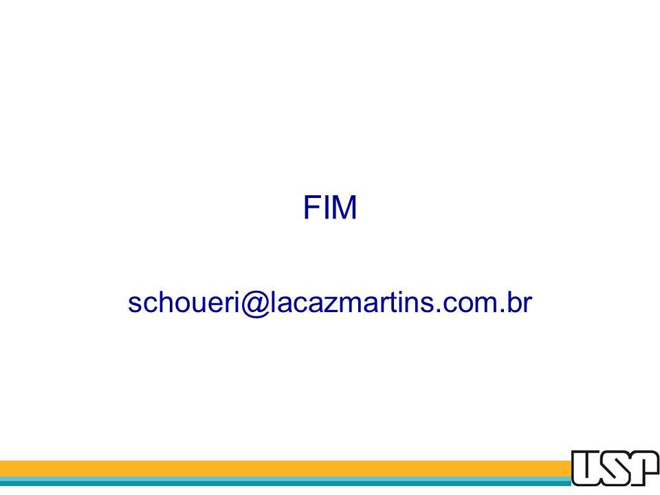 FIM schoueri@lacazmartins.com.br