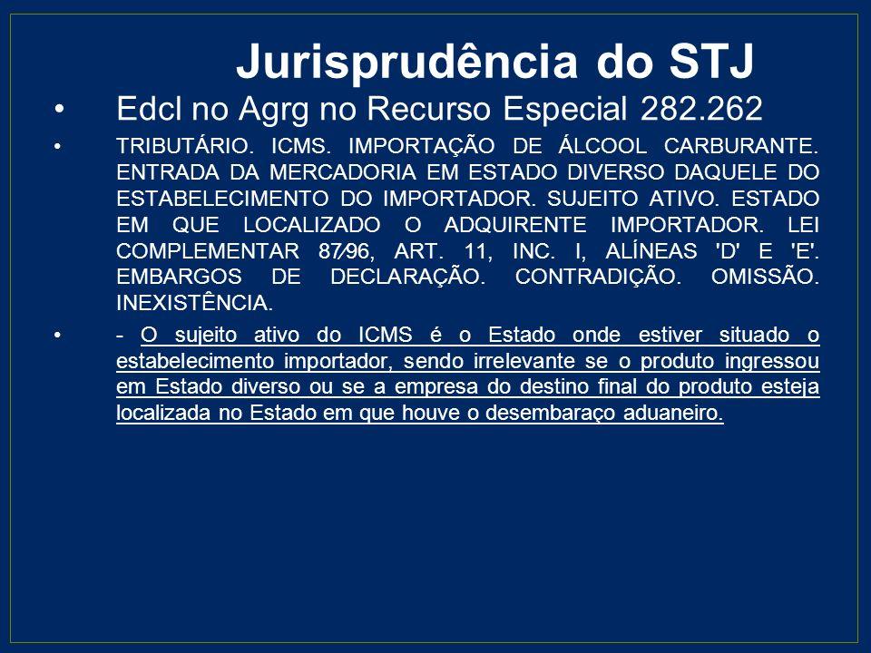 Jurisprudência do STF Recurso Extraordinário 299.079 EMENTA: RECURSO EXTRAORDINÁRIO.