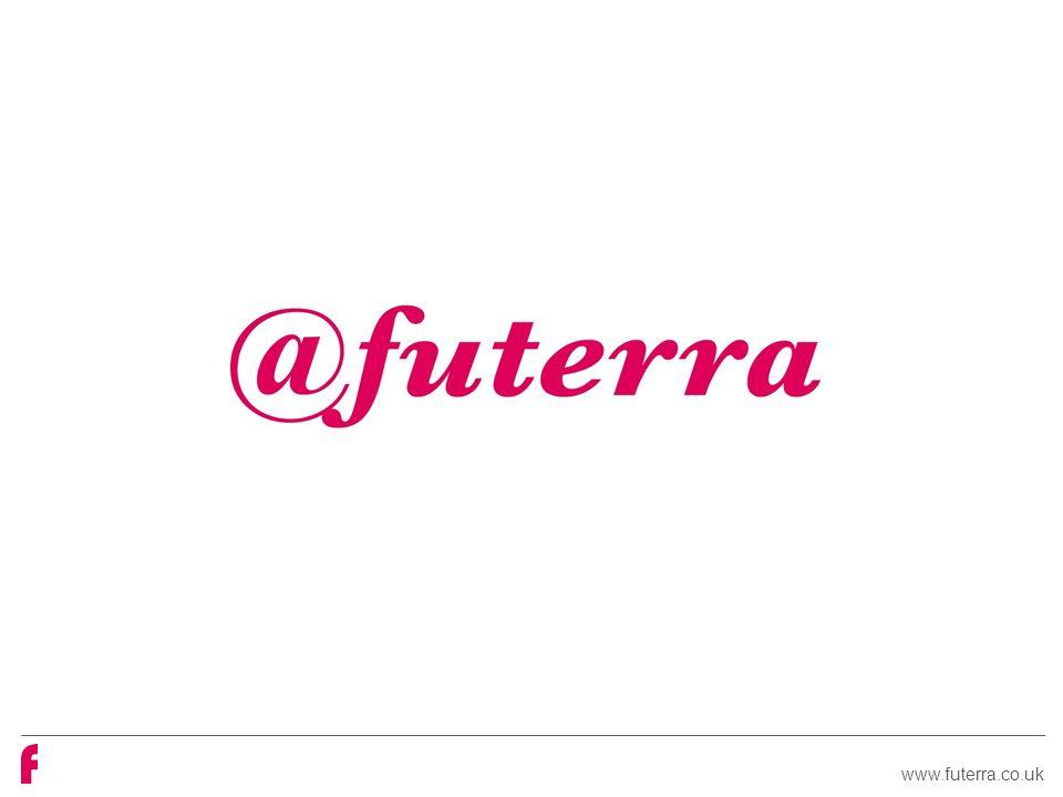 www.futerra.co.uk EXERCÍCIO Você recebeu um comportamento próprio de um setor específico e você deve trabalhar com persuasão Você deve nos apresentar mensagens e canal e vc tem um minuto para nos apresentar