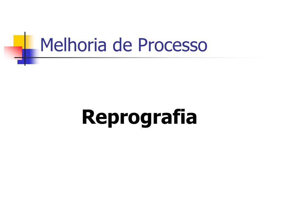 Melhoria de Processo Reprografia