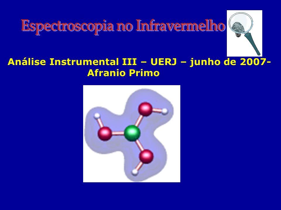 Análise Instrumental III – UERJ – junho de 2007- Afranio Primo
