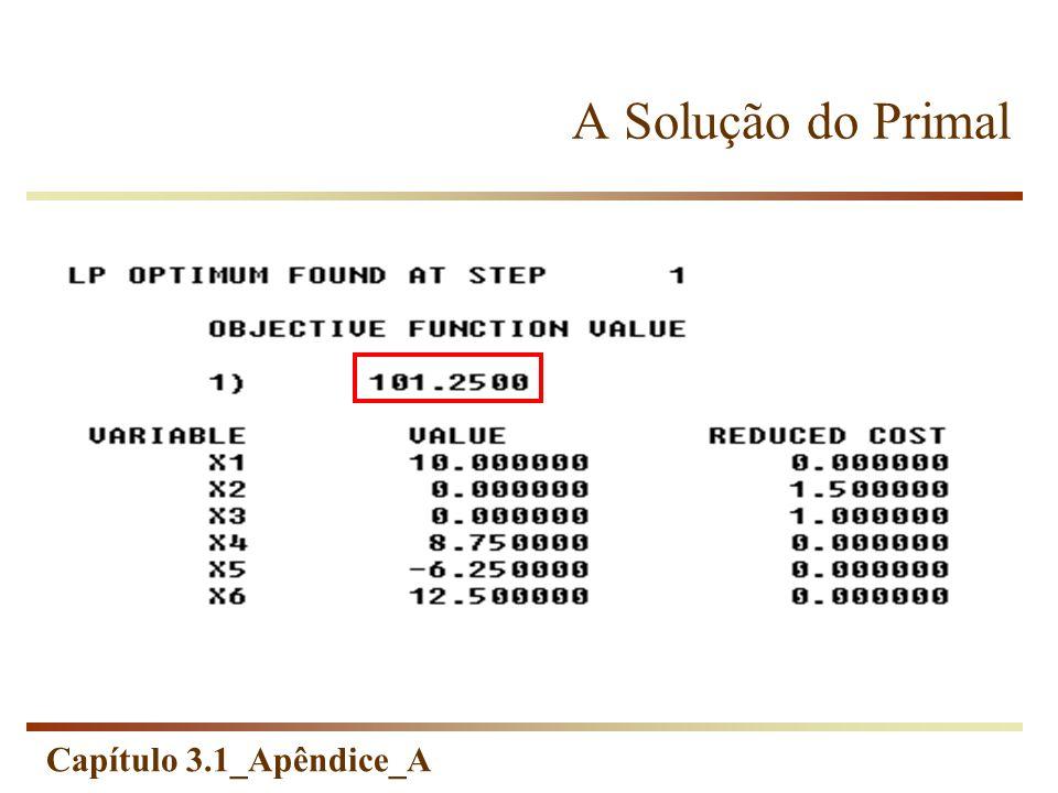 Capítulo 3.1_Apêndice_A A Solução do Primal