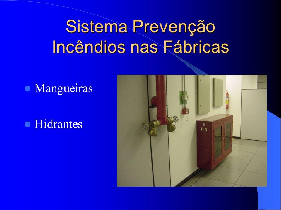 Mangueiras Hidrantes Sistema Prevenção Incêndios nas Fábricas