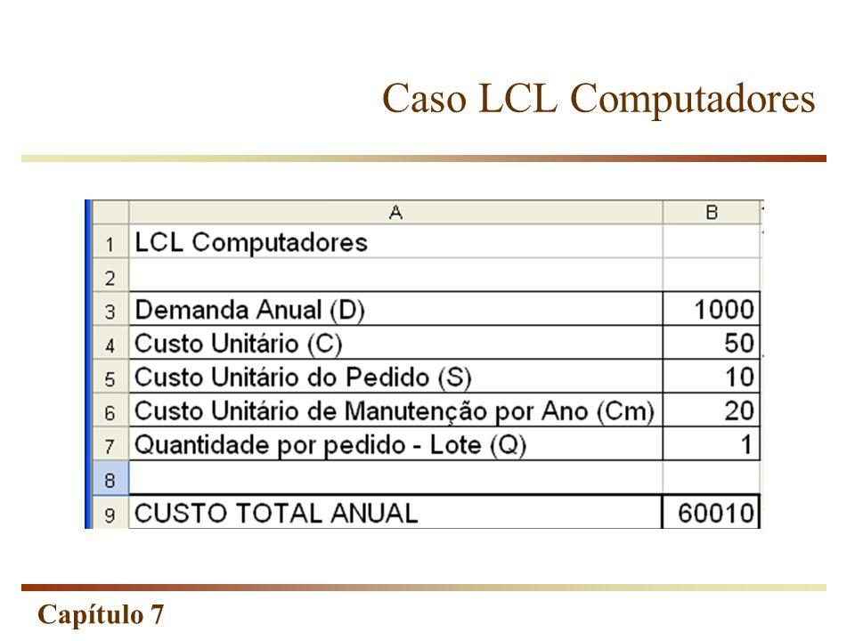 Capítulo 7 Caso LCL Computadores