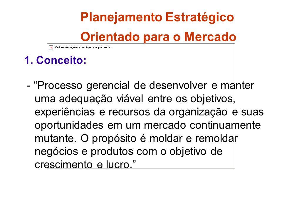 Planejamento Estratégico Orientado para o Mercado 1.