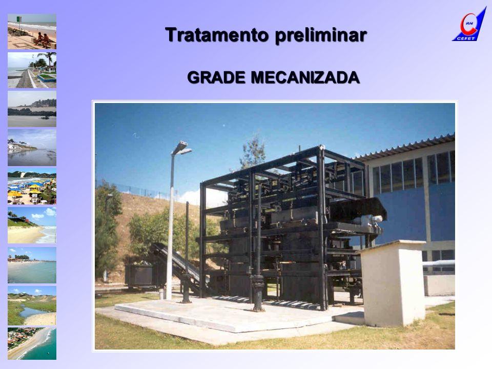 Tratamento preliminar GRADE MECANIZADA