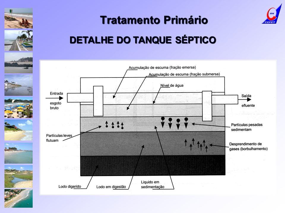 DETALHE DO TANQUE SÉPTICO