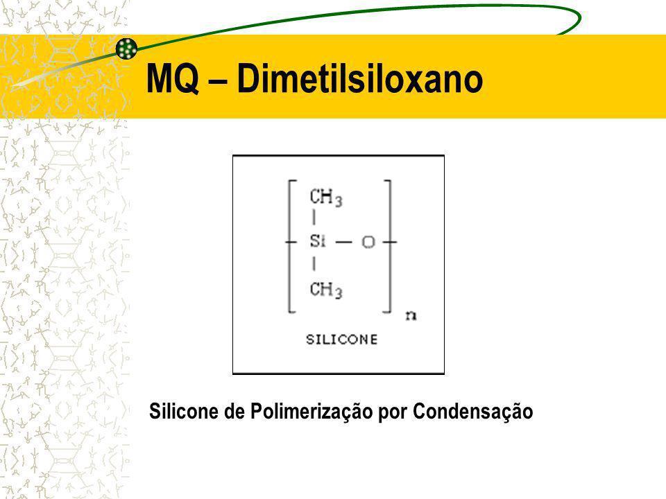 MQ – Dimetilsiloxano Silicone de Polimerização por Condensação