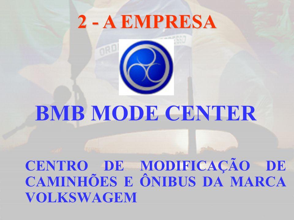 BMB MODE CENTER CENTRO DE MODIFICAÇÃO DE CAMINHÕES E ÔNIBUS DA MARCA VOLKSWAGEM 2 - A EMPRESA