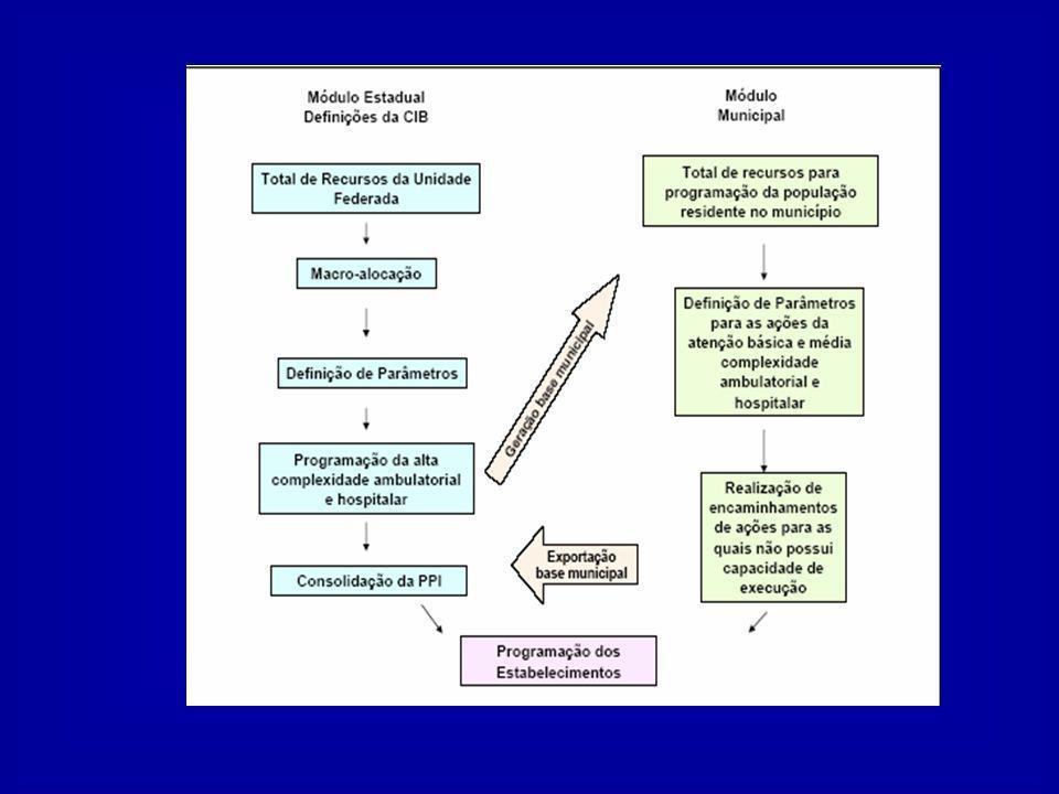 3 - PRESSUPOSTOS GERAIS 3.1 - INSERIR A PROGRAMAÇÃO NO PLANEJAMENTO GERAL DO SUS - A PPI na qualidade de um instrumento de alocação, caracteriza-se como ferramenta inserida no processo de planejamento.