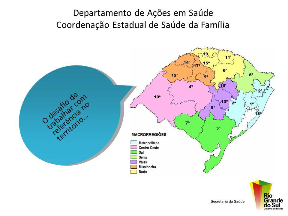 PMAQ no RS INICIATIVAS - Em relação às equipes e organização do processo de trabalho: Educação permanente: Ead, fiocruz, unasus, telesaúde, esp, numesc, nuresc...
