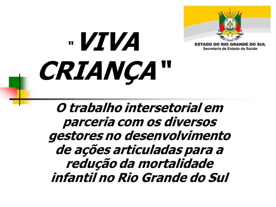 O trabalho intersetorial em parceria com os diversos gestores no desenvolvimento de ações articuladas para a redução da mortalidade infantil no Rio Gr