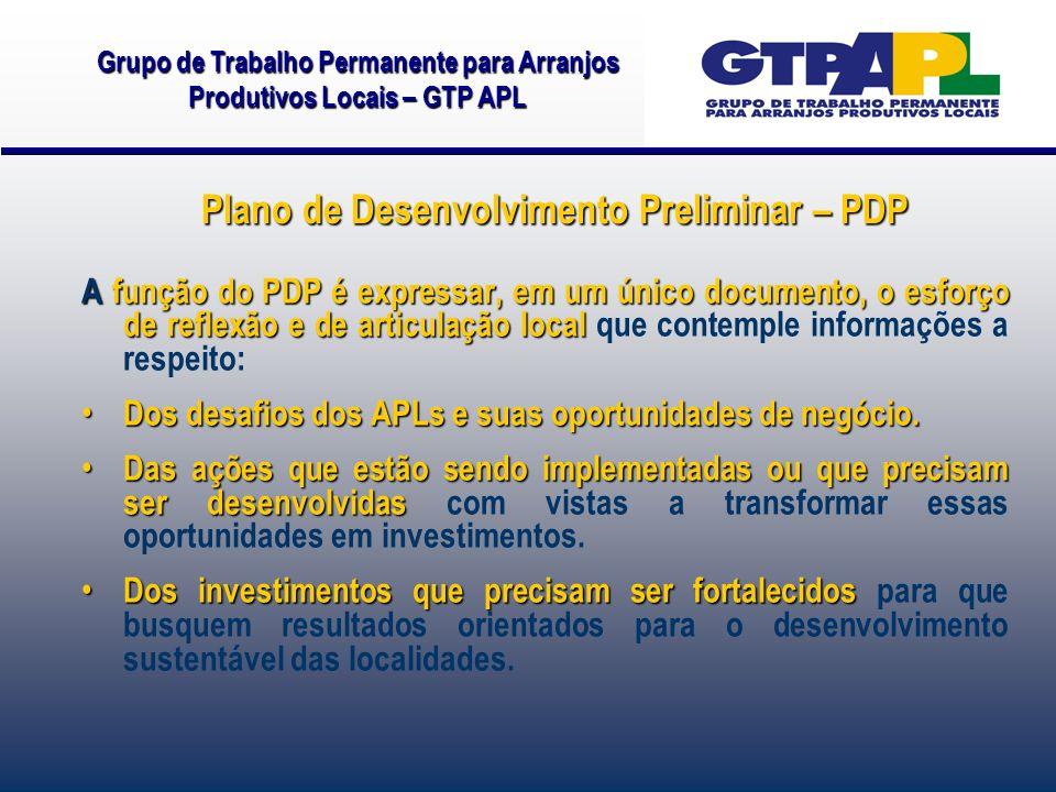 A função do PDP é expressar, em um único documento, o esforço de reflexão e de articulação local A função do PDP é expressar, em um único documento, o