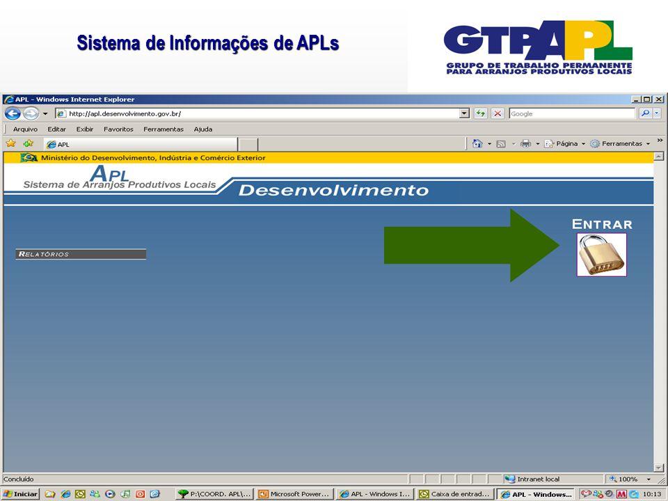Sistema de Informações de APLs