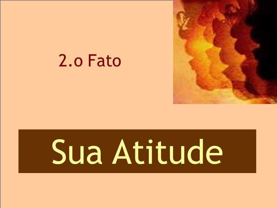 2.o Fato 2.o Atitudes Sua Atitude