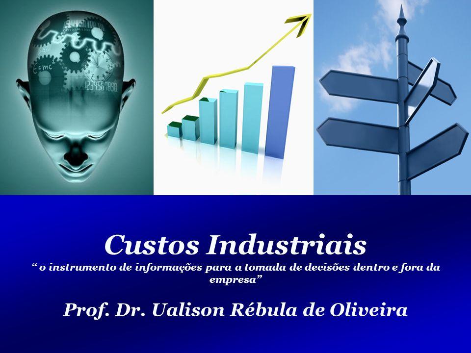 112/125 Engenharia de Produção – Custos Industriais – Prof.