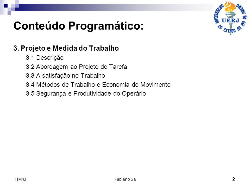 2 UERJ Conteúdo Programático: 3.