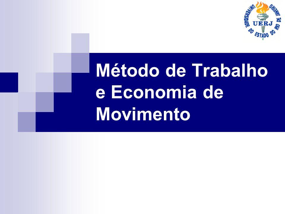 Método de Trabalho e Economia de Movimento