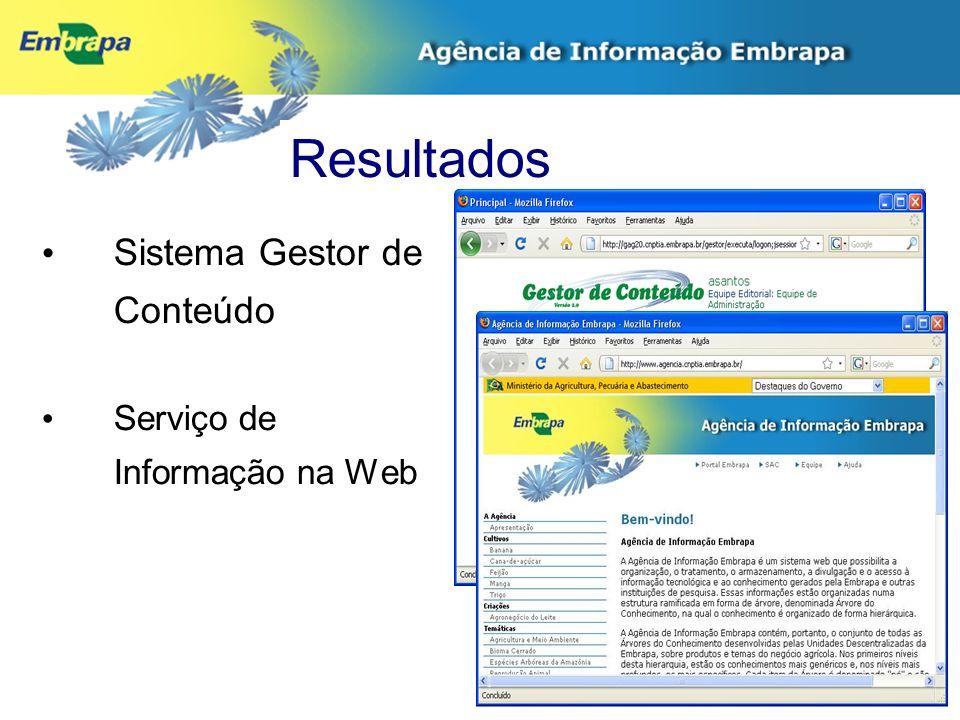 Características Adoção de novo paradigma na disseminação de informação tecnológica.