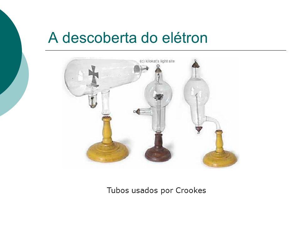 Tubos usados por Crookes