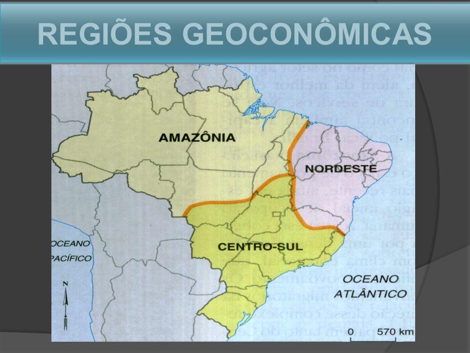 REGIÕES GEOCONÔMICAS