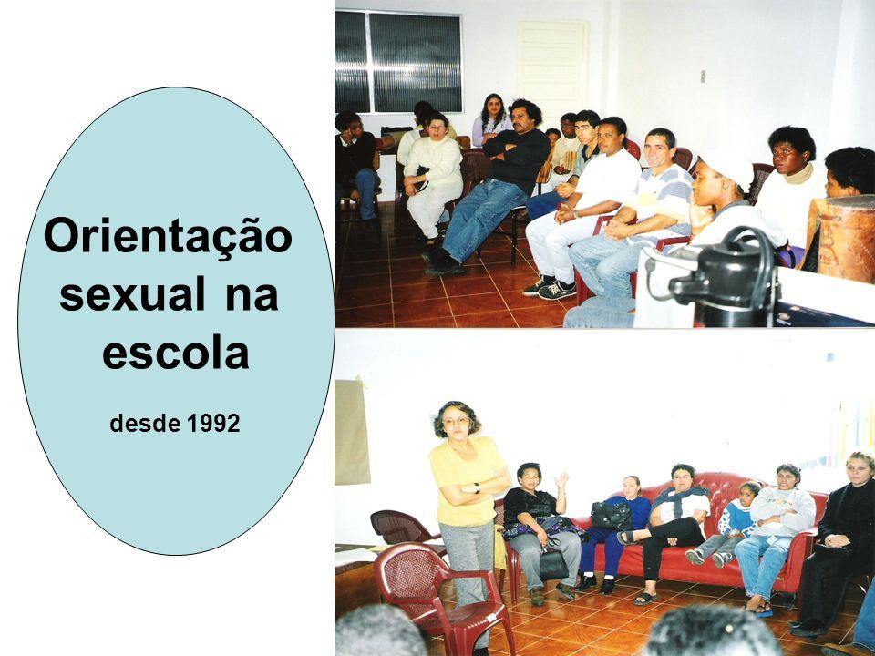 Orientação sexual na escola desde 1992