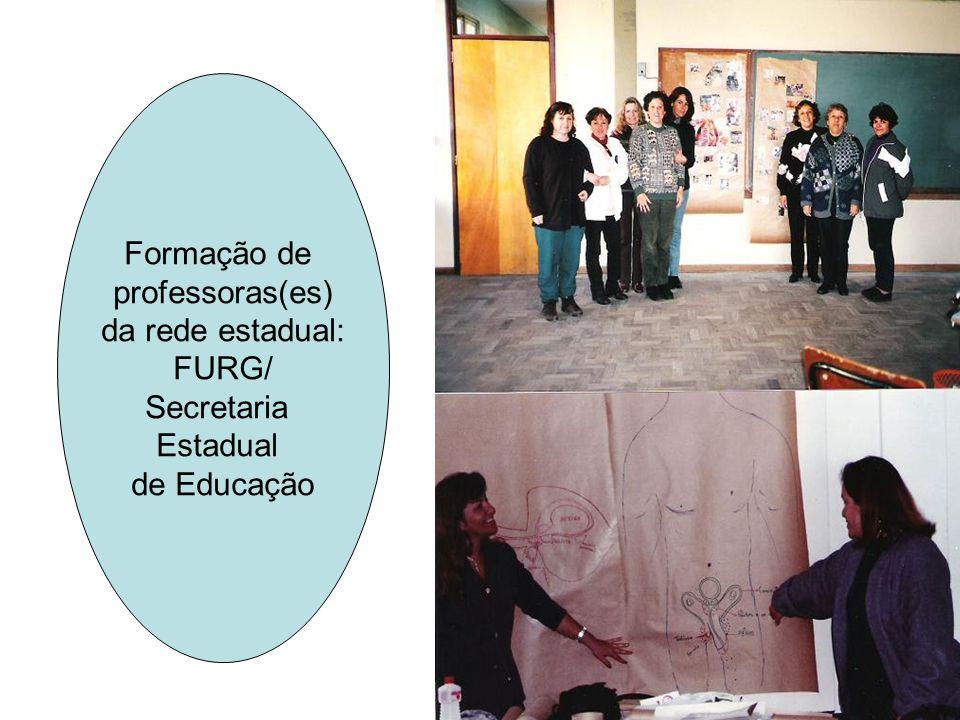 Formação de professoras(es) da rede estadual: FURG/ Secretaria Estadual de Educação