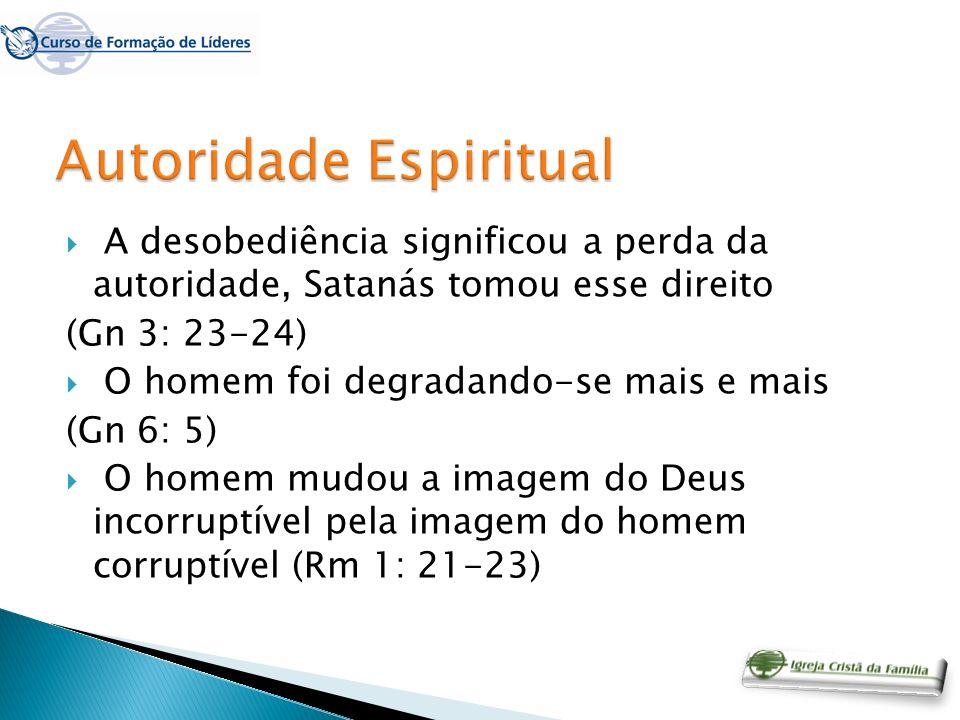 ANTES DO VENTRE Através da linhagem geracional, a chamada herança espiritual.