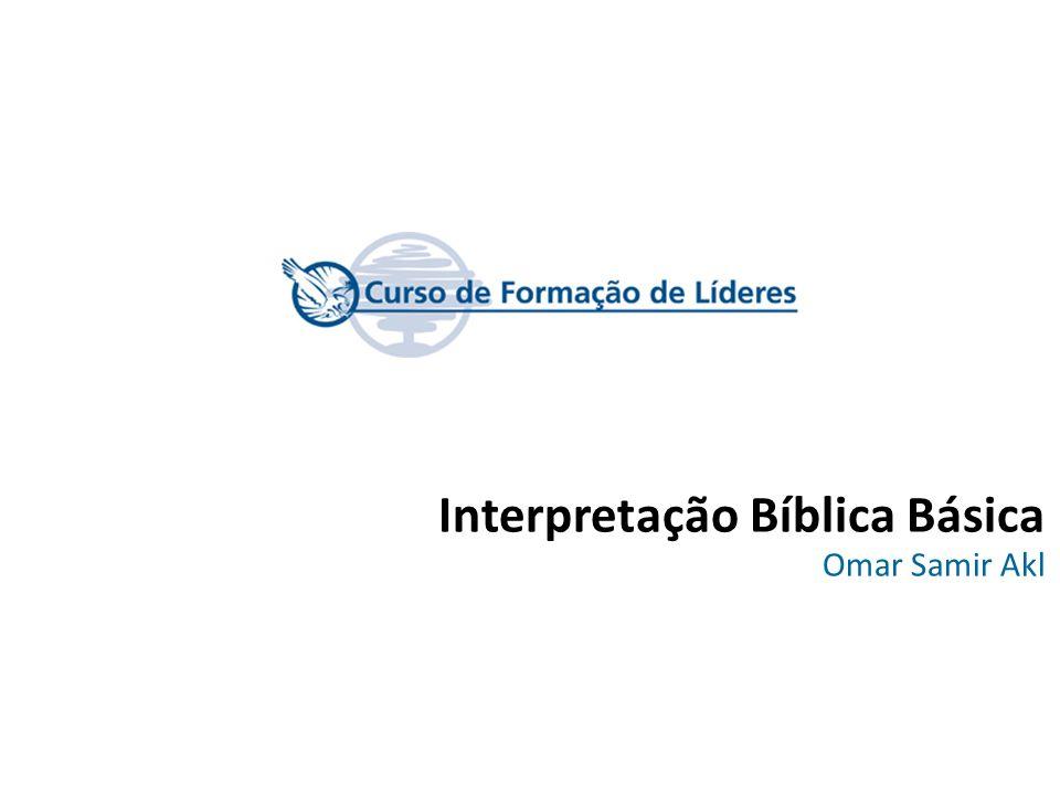 Interpretação Bíblica Básica Omar Samir Akl