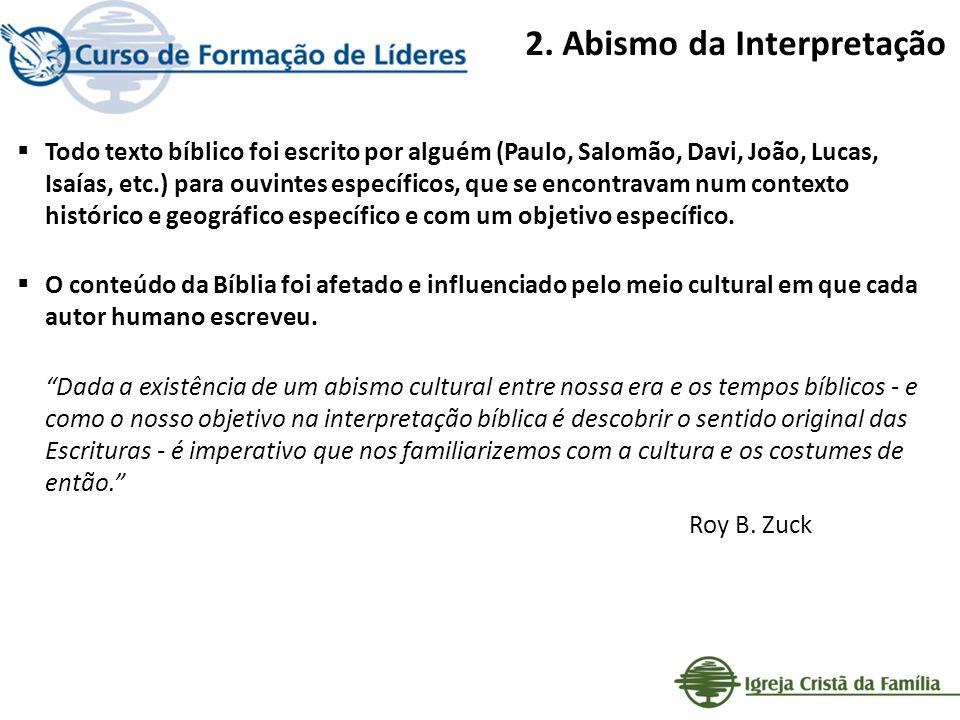 2.Abismo da Interpretação A.