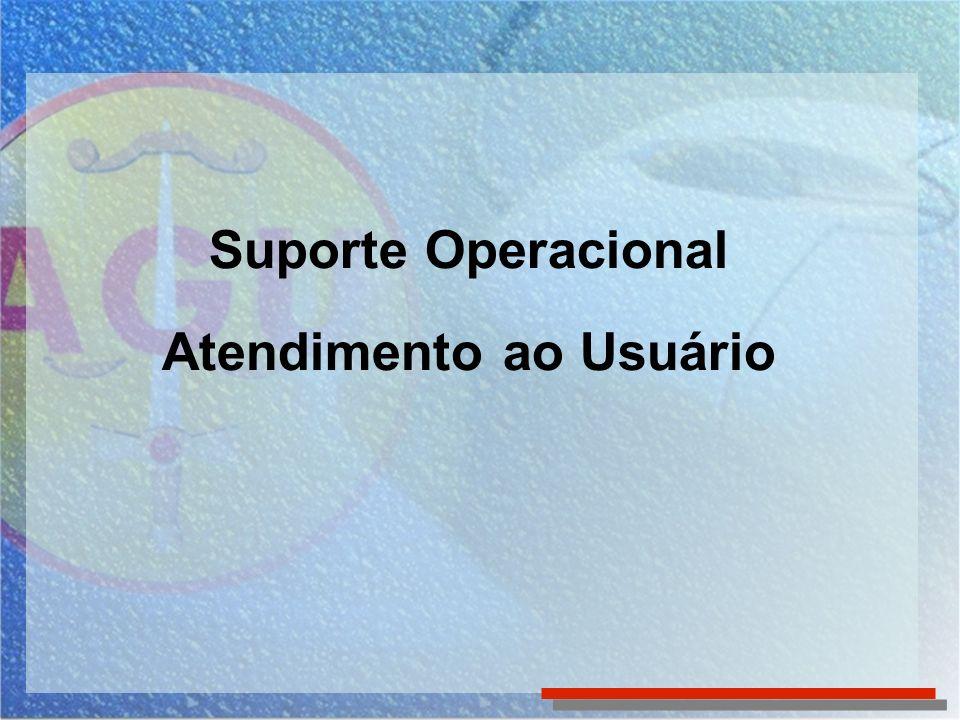 Suporte Operacional Atendimento ao Usuário