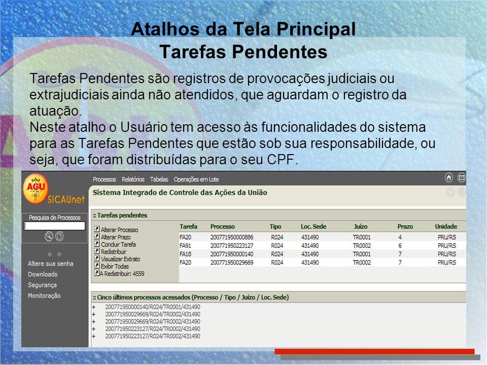 Tarefas Pendentes – alterar prazo em lote O usuário deverá alterar o prazo e clicar em confirmar.