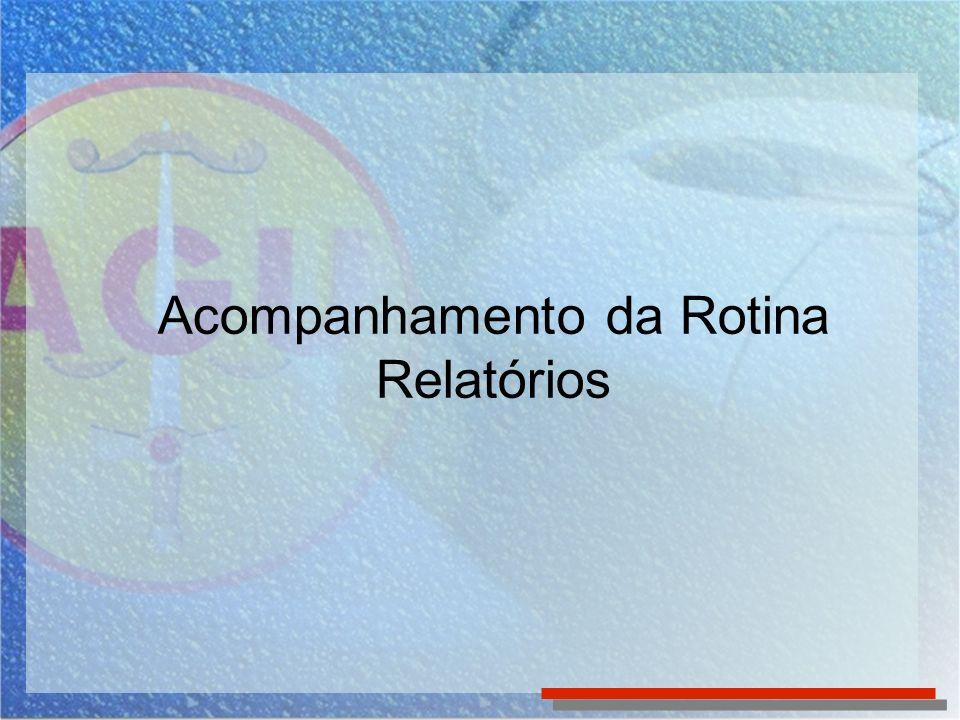 Para acessar os vários tipos de relatórios do SICAU, clique em Relatórios no Menu Superior.
