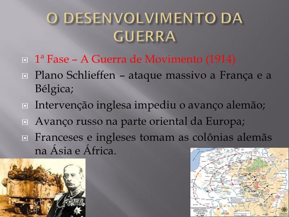 O início do conflito: o assassinato do Príncipe herdeiro do trono do Império Austro – Húngaro; Em agosto de 1914, este Império declarou guerra a Sérvi