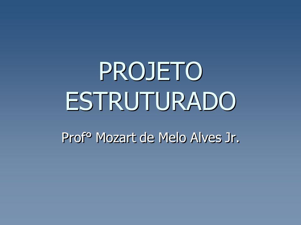 PROJETO ESTRUTURADO Prof° Mozart de Melo Alves Jr.