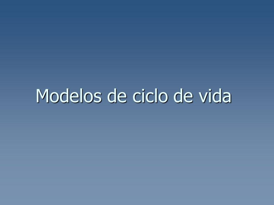 Modelos de ciclo de vida
