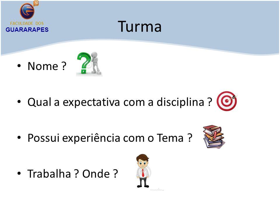 Plano de Vôo EMENTA Introdução à gestão de vendas.