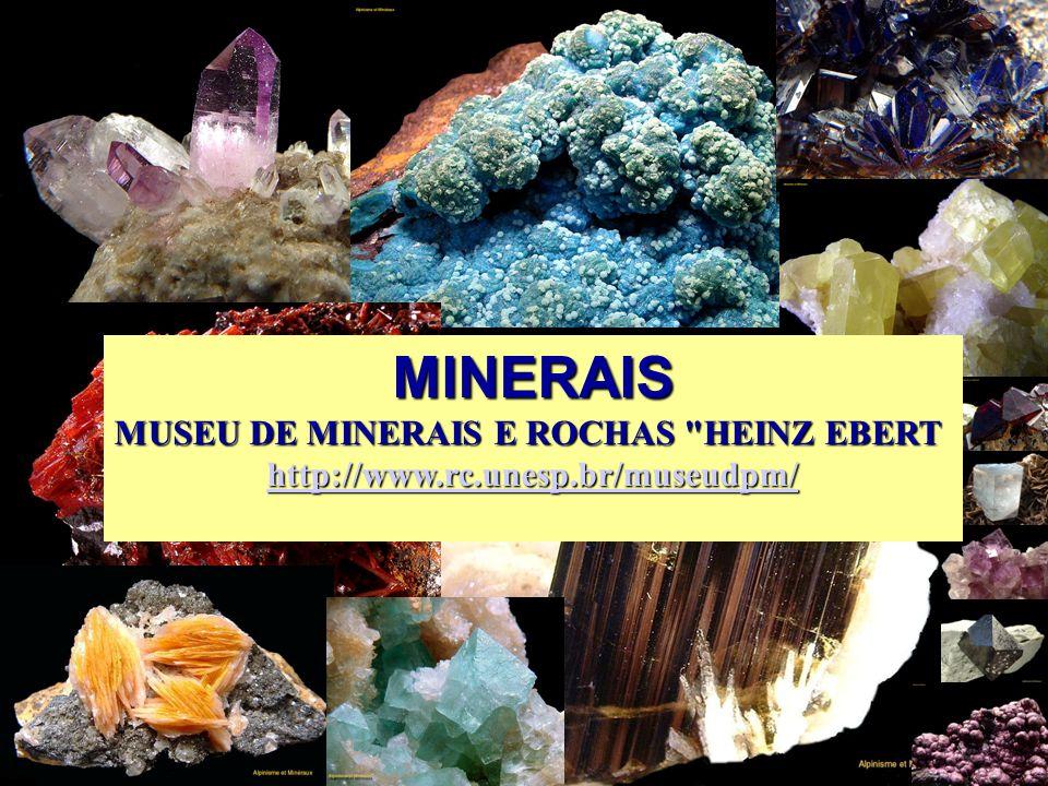 MINERAIS MUSEU DE MINERAIS E ROCHAS