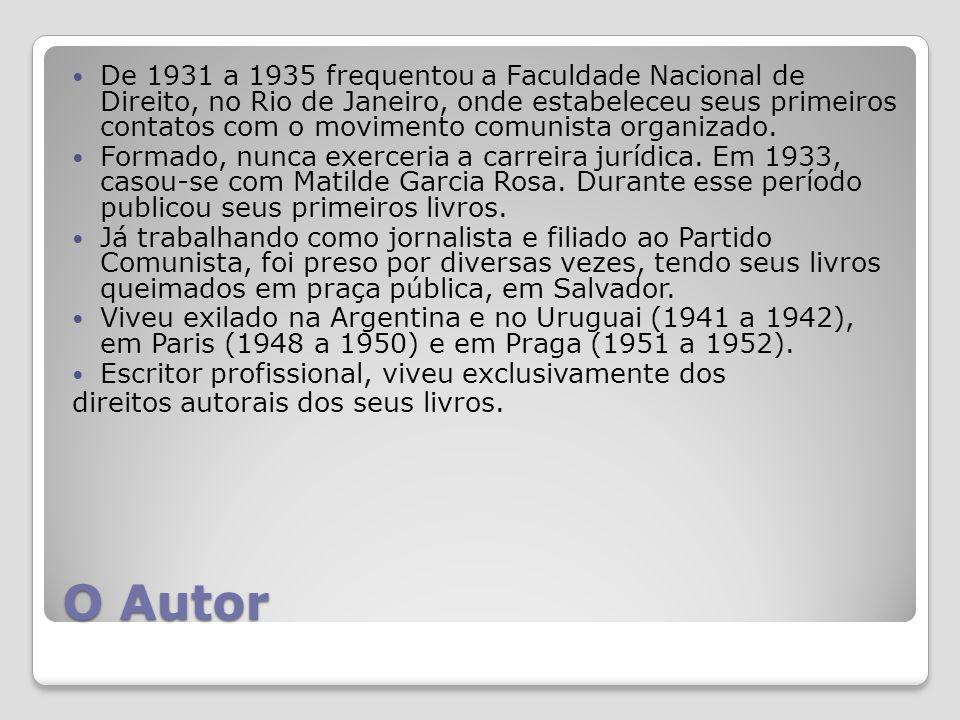 O Autor De 1931 a 1935 frequentou a Faculdade Nacional de Direito, no Rio de Janeiro, onde estabeleceu seus primeiros contatos com o movimento comunista organizado.