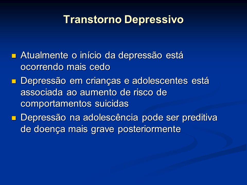 Atualmente o início da depressão está ocorrendo mais cedo Atualmente o início da depressão está ocorrendo mais cedo Depressão em crianças e adolescent