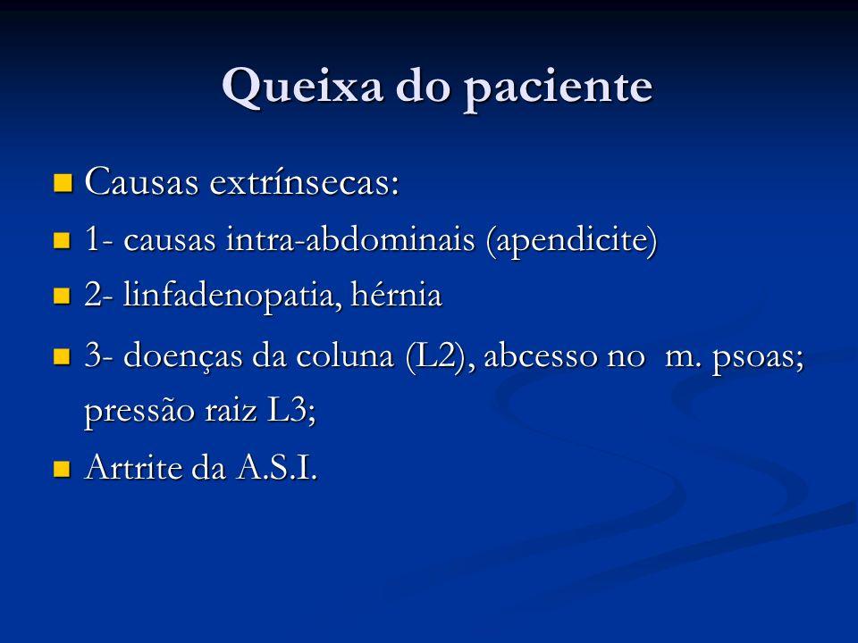 Fraturas do terço proximal do fêmur Mecanismos: Mecanismos: Traumas: acidentes autom.
