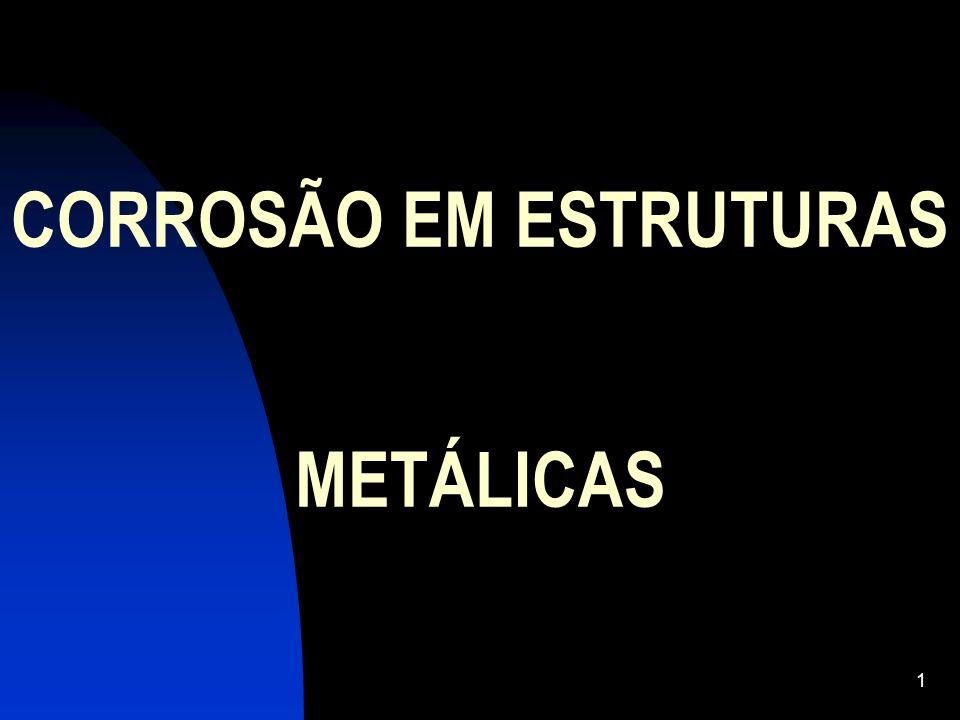 CORROSÃO EM ESTRUTURAS METÁLICAS 1